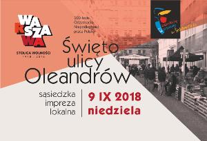 Święto ulicy Oleandrów – 09.09.2018 r.