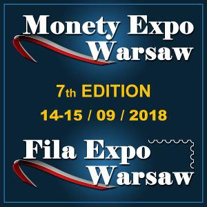 Monety Expo Warsaw 14-15 września 2018 r.