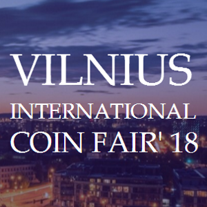 Vilnius International Coin Fair'18