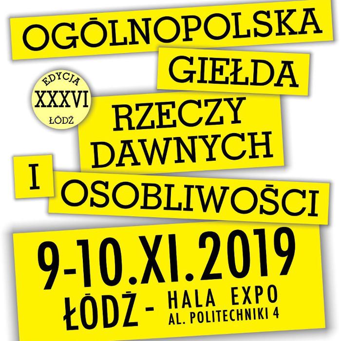 Giełda w Łodzi 9-10 listopada 2019 r.
