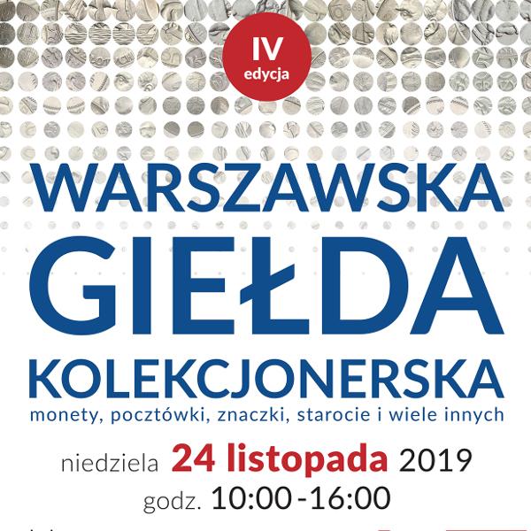 Warszawska Giełda Kolekcjonerska -24.11.2019 r.