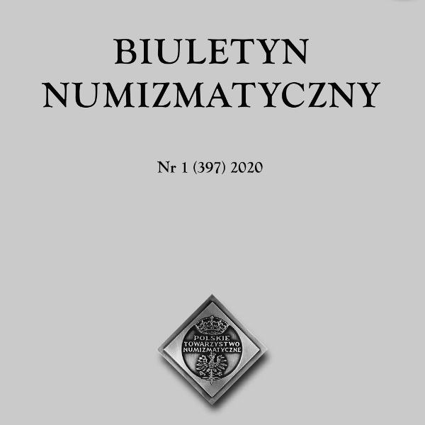 BIULETYN NUMIZMATYCZNY Nr 1 (397) 2020
