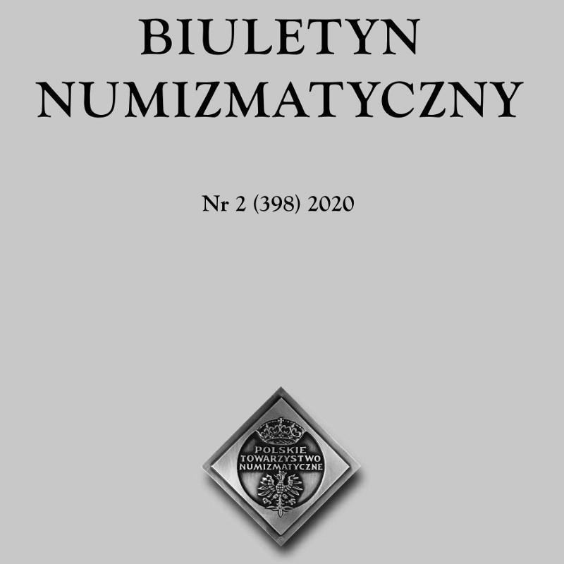 BIULETYN NUMIZMATYCZNY Nr 2 (398) 2020